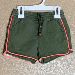 Cat & Jack toddler girl green shorts